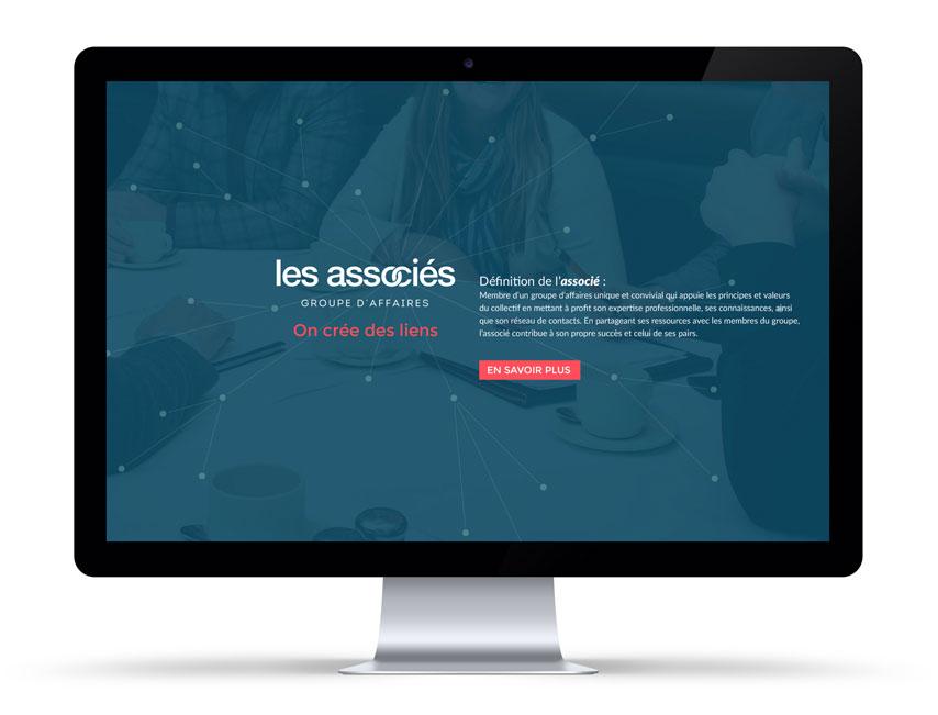 Site Web Les Associés
