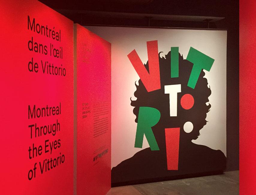 Montréal dans l'oeil de Vittorio