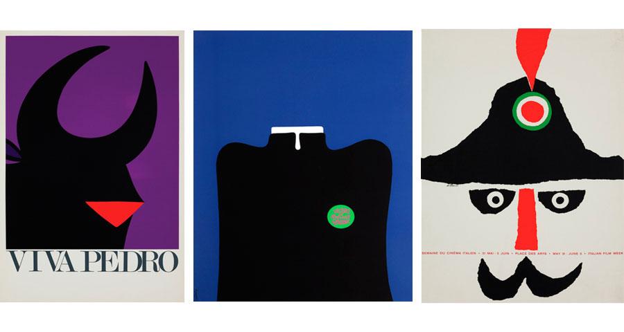 3 affiches Vittorio